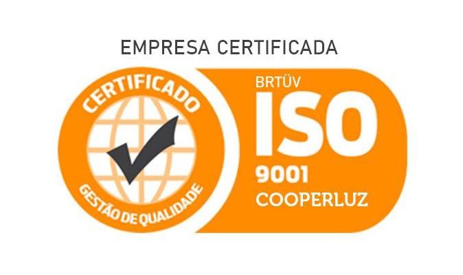 COOPERLUZ tem sua certificação ISO 9001:2015 renovada!